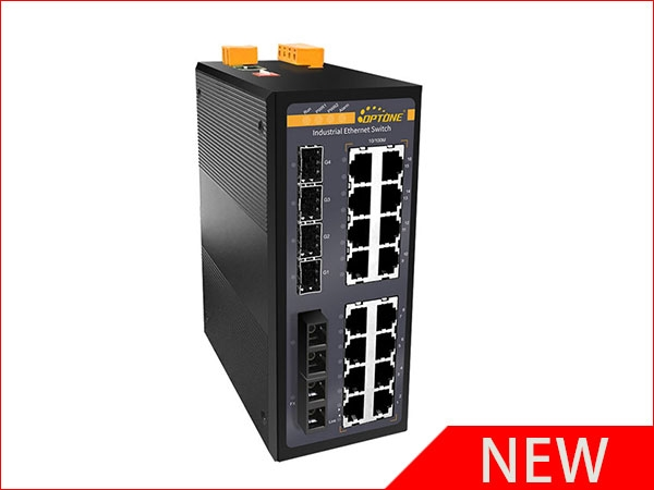 New Product Launch:22-Ports Industrial Ethernet Switch