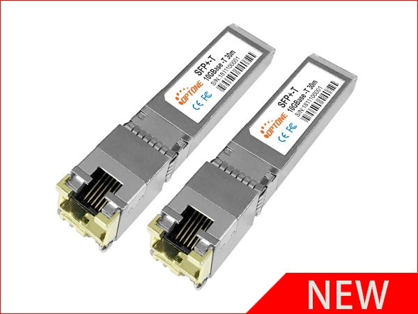 Optone developed SFP+ 10G copper optical modules sucessfully